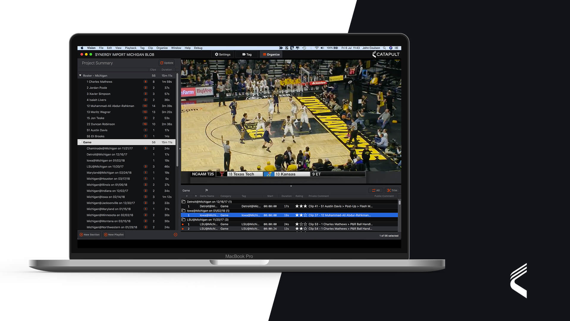 Catapult launches VISION to optimise video analysis