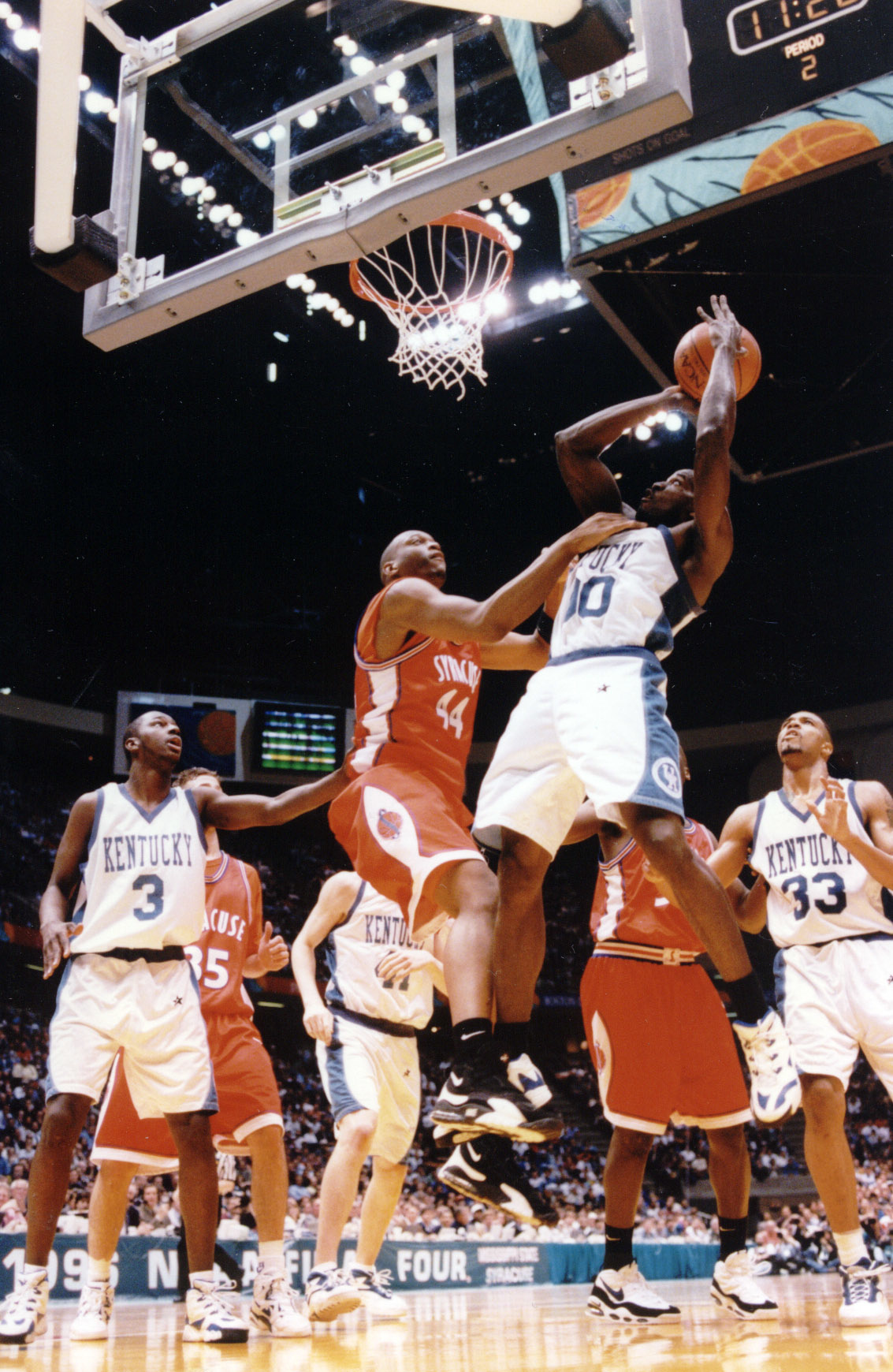 1996 NCAA Champion Tony Delk | Basketball Video Analysis
